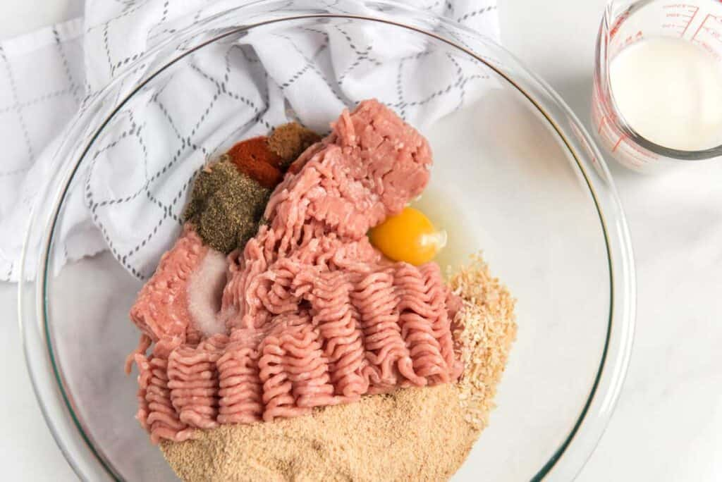 swedish meatball ingredients