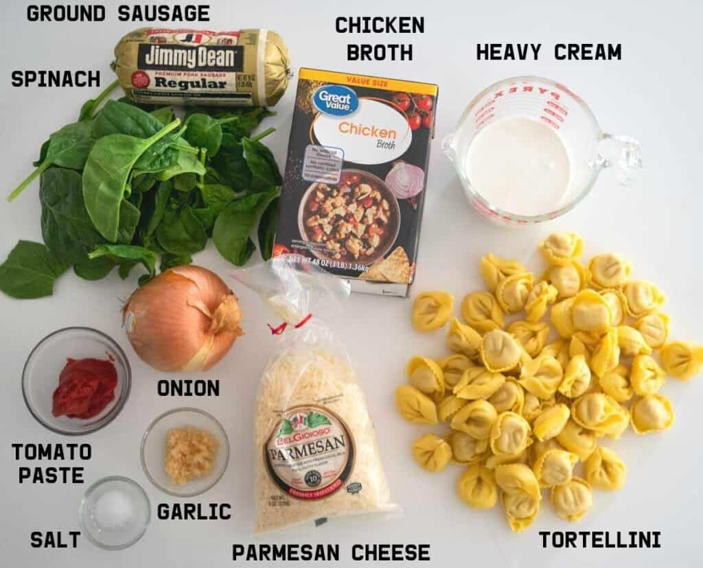 tortellini soup ingredients
