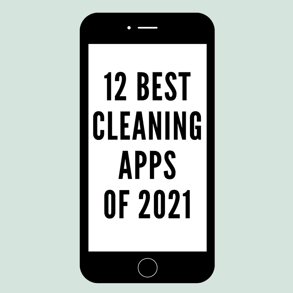 graphic for best cleaning apps