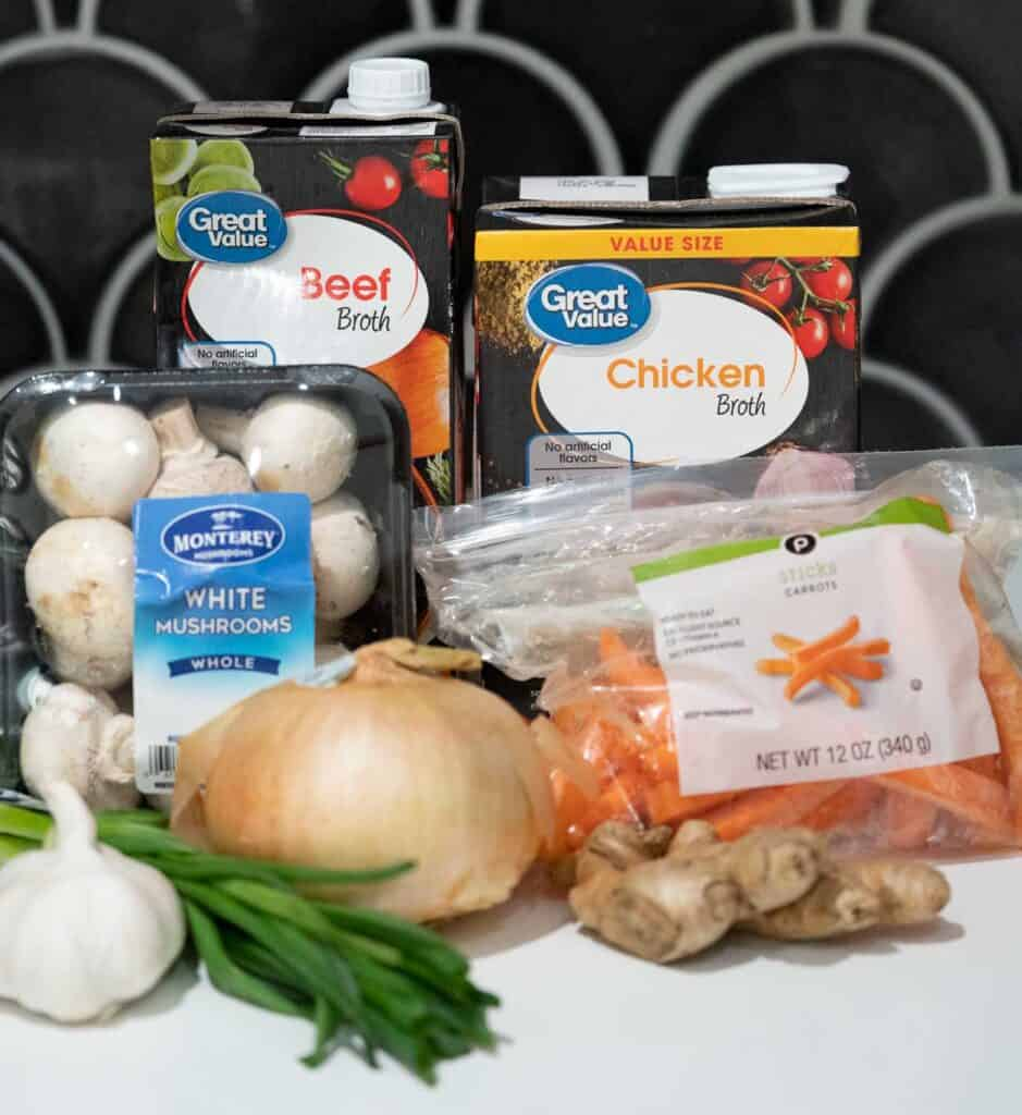 clear soup ingredients