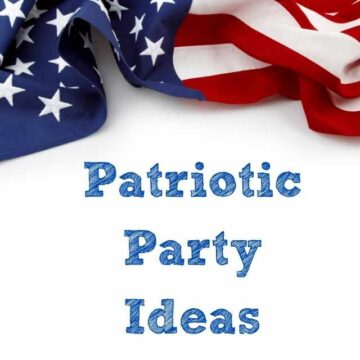 patriotic party ideas with american flag
