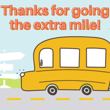 bus driver printable thank you card